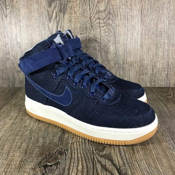 Nike Shoes New Air Force 1 High Se Binary Blue Womens Poshmark